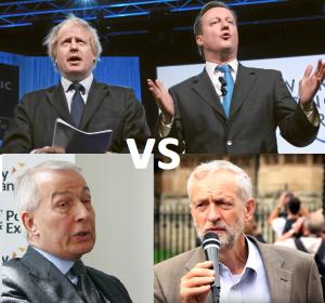 Politicians are split